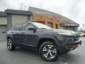 Jeep Cherokee TRAILHAWK, V6 3.2L, 4X4, CUIR, GPS, HITCH, WOW 201