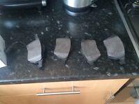 Audi brake pads and discs