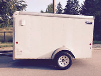 2012 car mate sportster 5x10 10ft enclosed cargo trailer