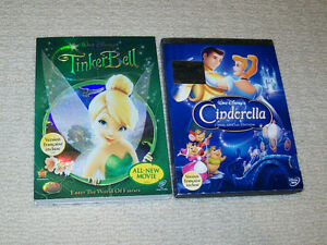 Disney - Cinderella Platinum Edition and TinkerBell DVD