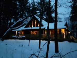Log Cabin Cottage Rental in the Port Burwell area