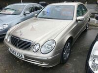 53 REG Mercedes-Benz E270 2.7TD auto CDI Avantgarde