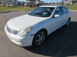 2003 Infiniti G35 Luxury Sedan - $6000 or Best Offer