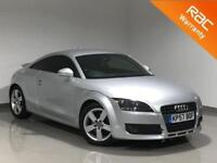 2007 Audi TT 2.0 TFSI 3dr COUPE SILVER FROM £29 PER/WEEK