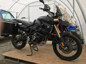 2009 BMW F800 GS with panniers