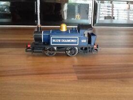Hornby blue diamond engine