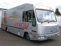 IVECO EUROCARGO MOBILE LIBRARY EXHIBITION SHOW SHOP CAMPER RACE TRUCK BUS VAN