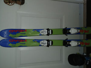 Youth ski's and boots