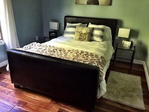 DOUBLE/FULL sized bed and mattress for sale