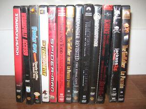 Various DVDs $5 each
