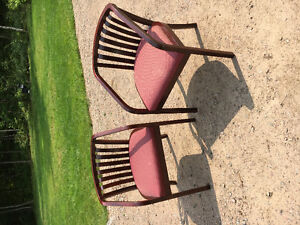 Pair of guest chairs