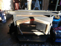Wood burning insert stove
