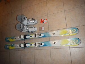 K2 Skis & Nordica Boots for Ladies / Youth