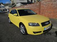 2003 AUDI A3 2.0 FSI SE MANUAL PETROL 3DR HATCHBACK