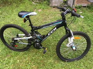 CCM Static Youth Dual Suspension 21-Speed Mountain Bike