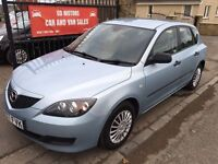 2007 (57) MAZDA 3 S DIESEL, 1 OWNER, NOT FOCUS ASTRA MEGANE NOTE CEED