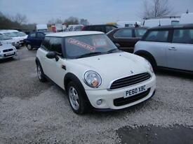 2010 Mini First 1.6 White. Only 38,000 miles. 2 owners FSH.
