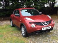 2011 60 NISSAN JUKE 1.6 16v VISIA 5 DR ONLY 68,000 MILES WITH FSH