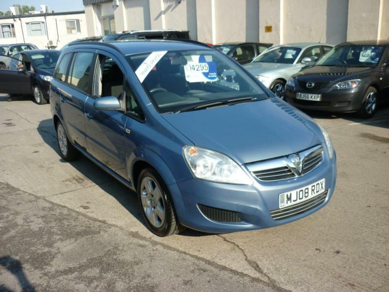 2008 Vauxhall Zafira 1.6 16v ( 105ps )7 Seater Exclusiv Finance Available