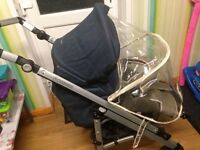 Maxi cosi pushchair with free children's things