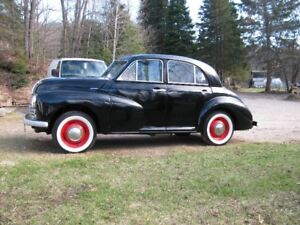 1952 Morris Oxford - All steel  - All original - Many new parts