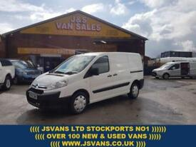2015 65 CITROEN DISPATCH 1.6 1000 L1H1 ENTERPRISE HDI DIESEL VAN + AIR CON 64000