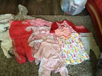 3-6 months girls clothes
