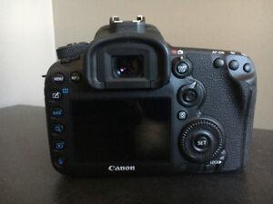 Canon 7D mk ii w/Diamnod Protection service plan