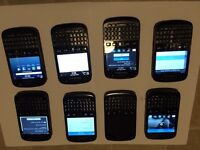8* job lot blackberry 9720