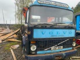 Volvo F6. Classic Hiab Truck