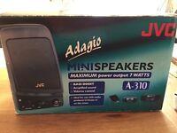 JVC Mini speakers A-310