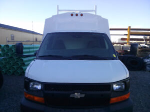 2009 CHEVY EXPRESS 3500 service body CUTAWAY VAN