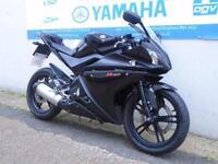 2009 YAMAHA YZF-R125 GLOSS BLACK