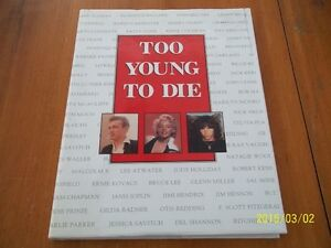 "Livre  "" Too young to die"" : Kennedy,Morrison,Joplin,Hendrix,etc"