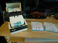 Rolodex Covered Rotory Card File Model 2254 made in USA