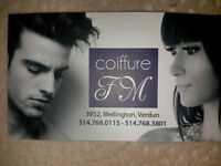 COIFFEUSE -ASSISTANTE