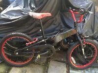 Box style child's bike