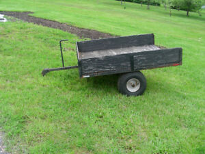 small trailer for lawn tractor