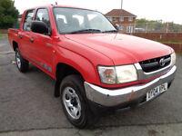 2004 04 Toyota Hi-Lux 2.5D-4D 2004MY 280 EX NO VAT