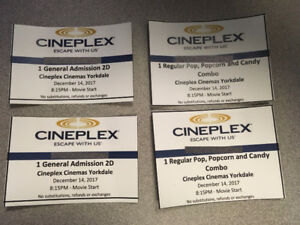star wars-the last jedi premiere show tickets for two