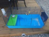Large indoor guniea pig or rabbit cage hutch