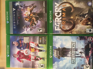 FIFA 16 DESTINY BATTLEFRONT 1 FAR CRY PRIMAL XBOX ONE