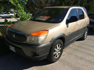 2002 Buick Rendezvous SUV car vehicle used clean