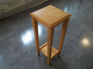 Table For plant.