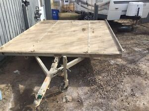 2004 sled bed 2 place trailer
