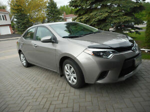 2014 Toyota Corolla LE Sedan with 2yr. extended warranty