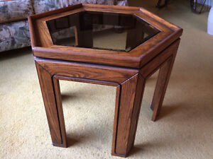 Wooden Coffee and end tables