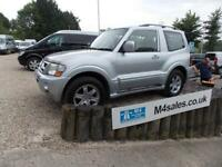 Mitsubishi Shogun Swb Di-D Warrior Estate 3.2 Automatic Diesel