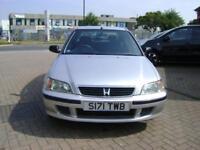 Honda Civic 1.4i ( a/c ) SE Ltd Edn JUST LOOK AT THIS HISTORY