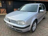 Volkswagen Golf 1.6 2003MY Match classic 36000 miles only stunning full history